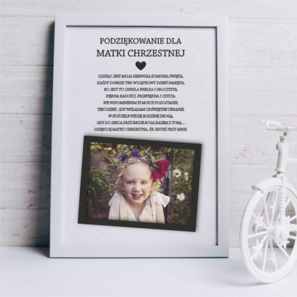 Podziękowania dla dziadków/chrzestnych